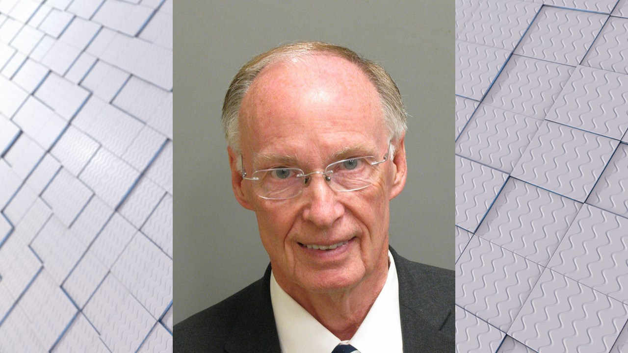 Mugshot of Gov. Robert Bentley (Source: Montgomery County Sheriff's Office)