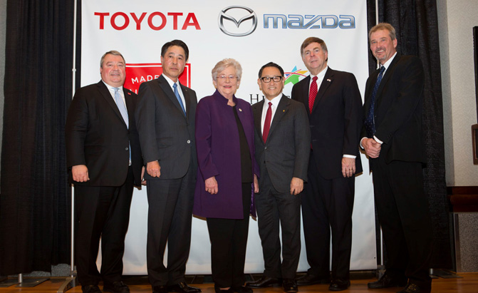 How new Toyota/Mazda plant will benefit Cullman | The