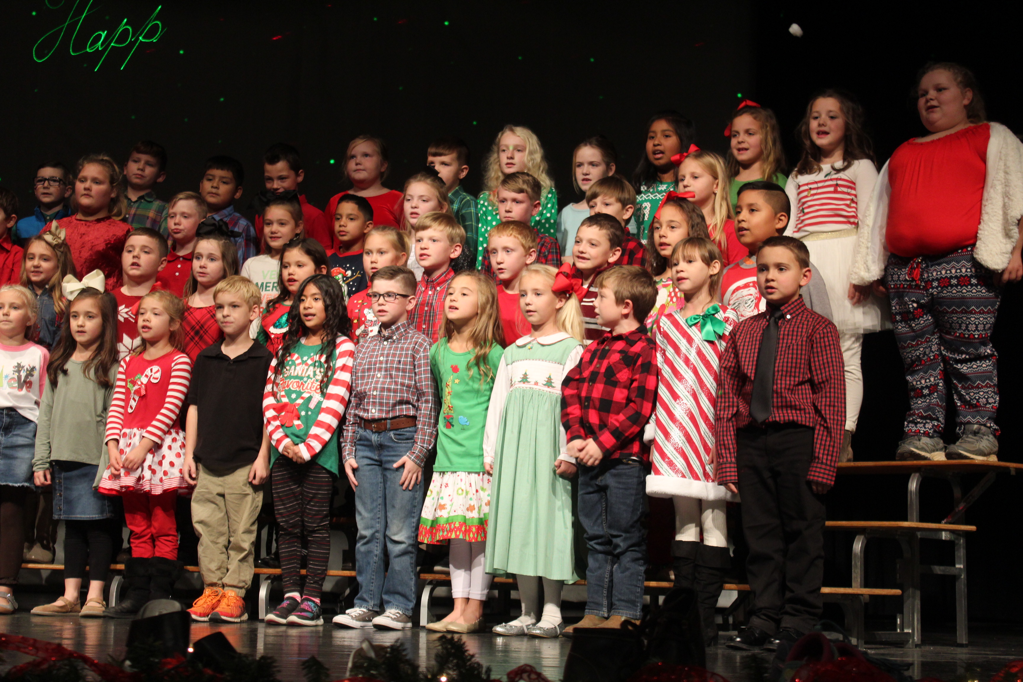 Fairview students use Christmas program
