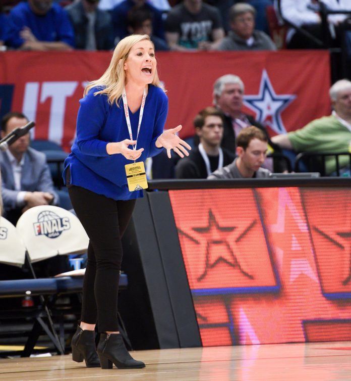 Girls' Basketball Coach Tammy West has led the Lady Eagles to State Championship in 1999, 2008, 2009 and 2019 in her tenure at Cold Springs. (Martha Needham)