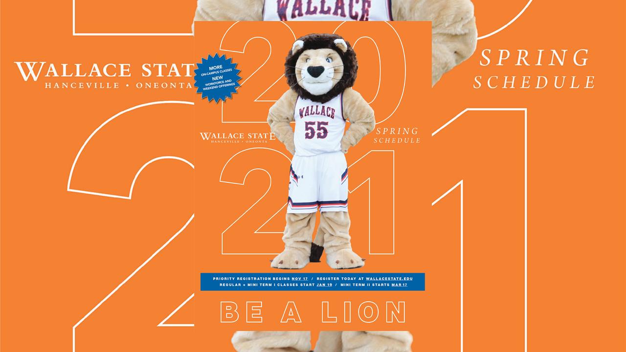 Wallace State Calendar 2021