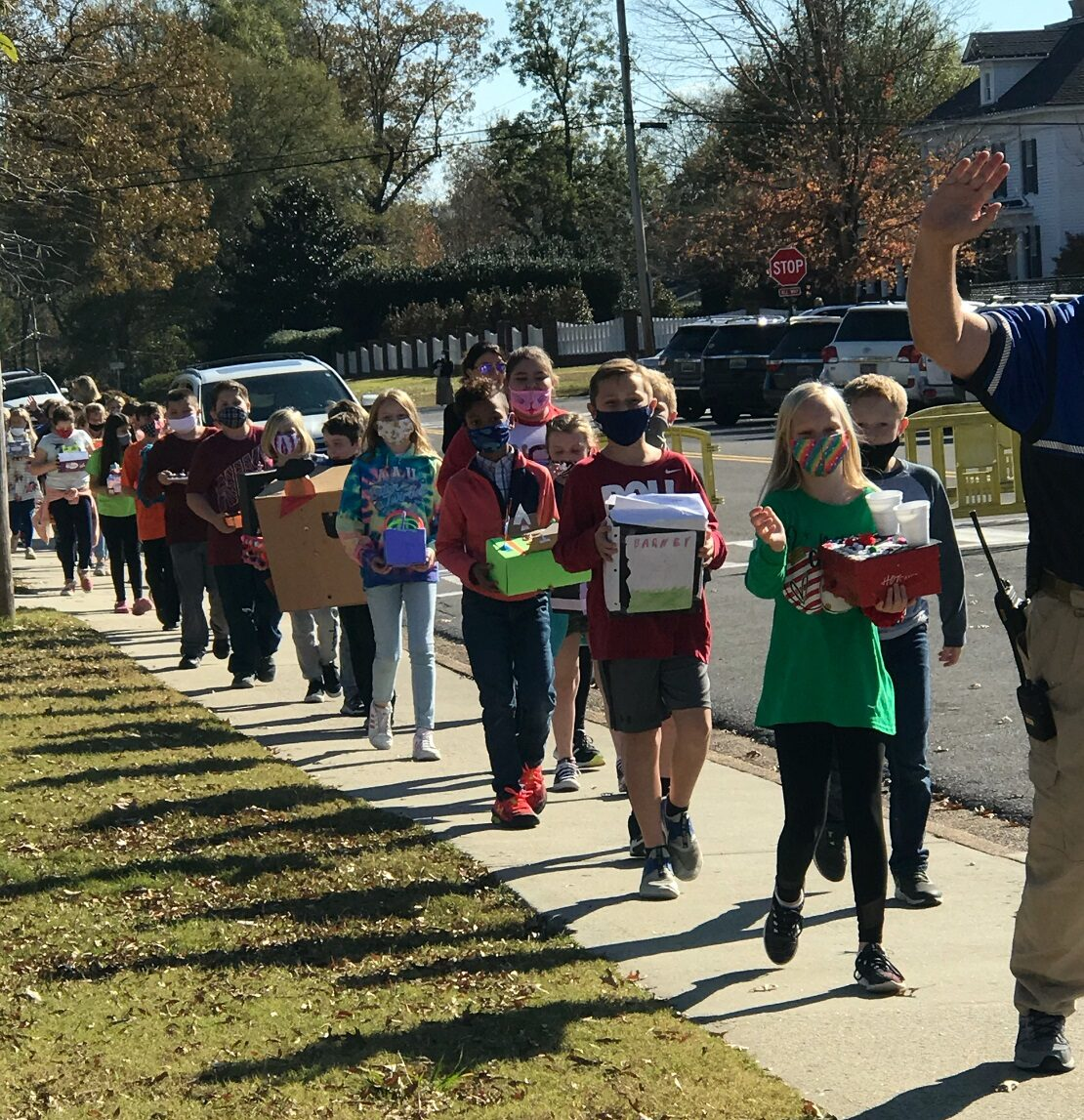 East Elementary students create mini-version of the Macy's Thanksgiving Day Parade | The Cullman ...