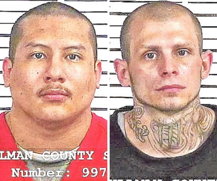 Left: Leo Chavez, right: Robert Alan Peak
